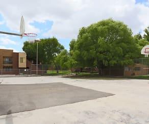 Community Basetball Court, Academy Terrace Apartment Homes