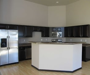 Kitchen, Town Square Townhomes