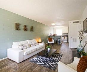 Living Room, University Pointe