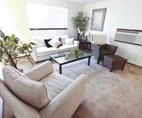 Living Room, Avendale Pointe Apartments