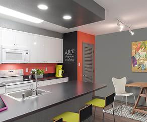 Kitchen, AVA Pasadena