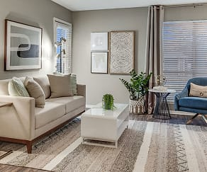Living Room, Towne Oaks South