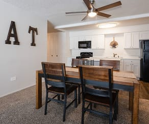 Dining Room, The Township @ St. Charles Apartments