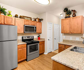 Kitchen, Villas at Medical Center