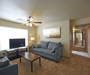 Living Room, Coles Crossing Apartments