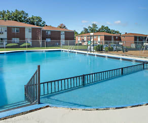 Pool, Stevens Manor Apartments