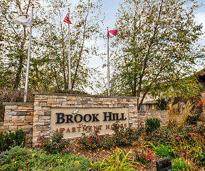 Community Signage, Brook Hill Apartments