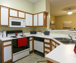 Kitchen, Enclave at Wolfchase