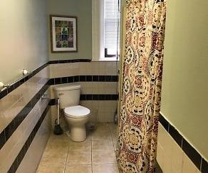 Bathroom, 302 & 308 Washington Street