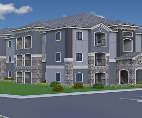 Rendering, Lake Villas Apartments
