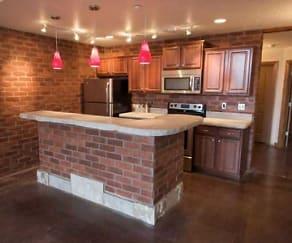 Kitchen, Springfield Loft Apartments