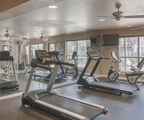 Fitness Weight Room, Mainstream Apartments