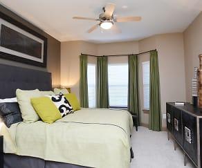 Bedroom, Flats at Garland