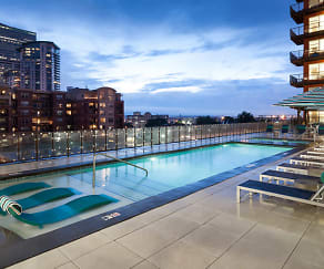 Pool, Radius Uptown Apartments