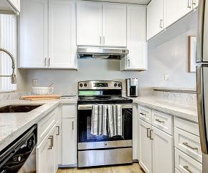 Kitchen, The Vineyard Luxury Apartments