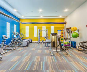 Fitness Weight Room, South Shore Landing