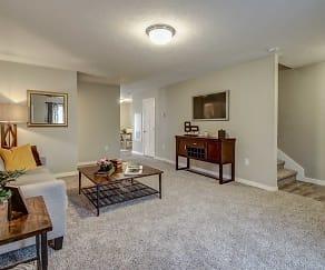 Living Room, Timbercreek Townhomes