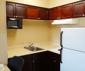 Kitchen, Furnished Studio - Atlanta - Gwinnett Place