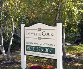 Landscaping, Lafayette Court