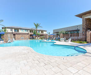 Pool, Elevation Plaza Del Rio