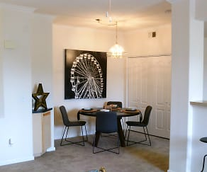 Dining Room, Aventine Luxury Apartments