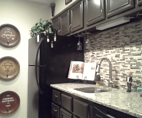 Kitchen, The Brooke Apartments