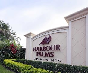 Community Signage, Harbour Palms