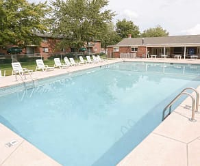 Pool, Garden Village Apartments
