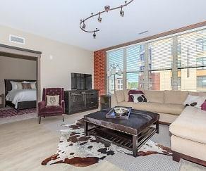 Living Room, Crocker Park Living Apartments