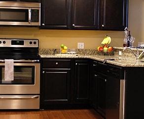 Kitchen, JBAS Realty Apartments