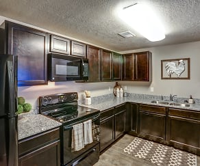 Kitchen, Clearfield Station Apartments