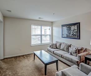 Living Room, Puddledock Place Apartments