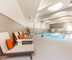 Indoor Swimming Pool, Ellicott House Apartments