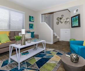 Living Room, The Preserve at Allisonville