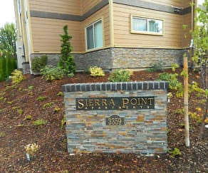 Community Signage, Sierra Point Apartments