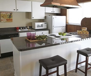 Kitchen, Colonial Park Townhomes
