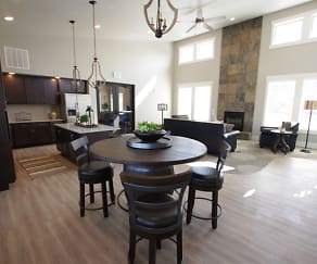 Dining Room, Harper Ridge Apartments