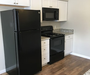 Kitchen, Sutter Commons Apartments