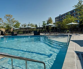 Pool, Sherri Park Apartments