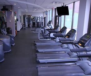 Fitness Weight Room, University Towers