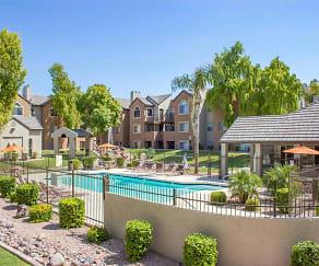 Swimming Pool and Spa Area, Terra Vida Apartments