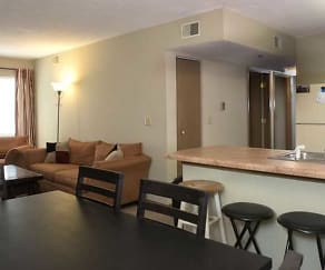 Dining Room, Washburn Place Apartments
