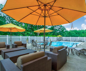Pool, Chateau Perry Apartments
