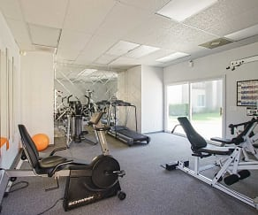 Fitness Weight Room, Trask Apartments
