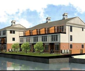Building, Boathouse Landing