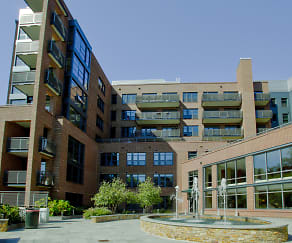 Building, Flats at Bethesda Avenue