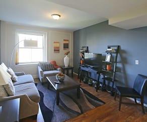 Living Room, Residences at the John Marshall