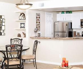 Dining Room, Ute Creek Apartments