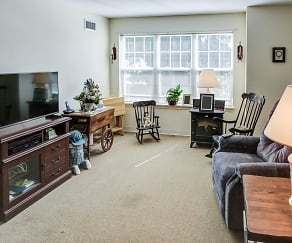 Living Room, Krause Gardens Apartments