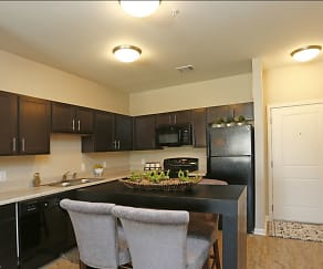 Kitchen, The Villages at Fiskville 55 + Community
